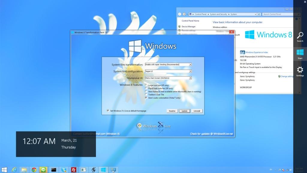 Windows 8 Transformation Pack v8