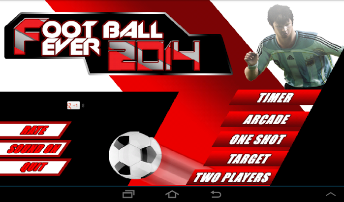 Football World Cup Fever 2014 screenshot