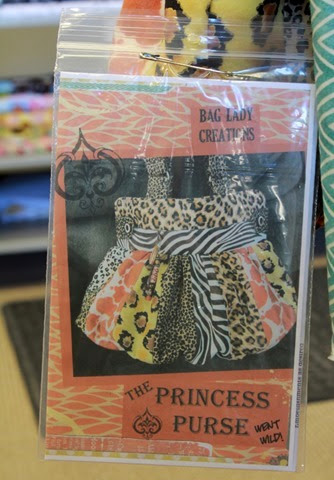 Princess Purse went wild pattern