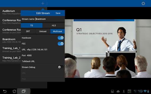 InStream Mobile - Media Player