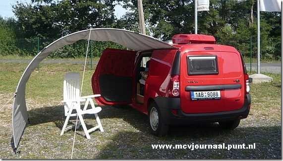 dacia techniek en tuning dacia logan mcv van als camper. Black Bedroom Furniture Sets. Home Design Ideas