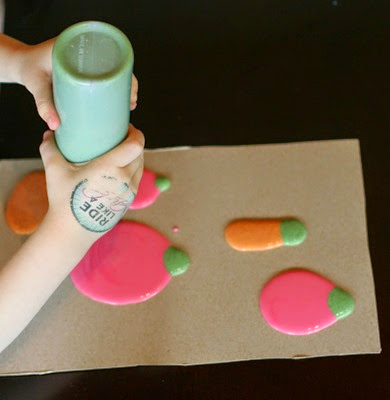 Puffy Paint from Fun at Home With Kids