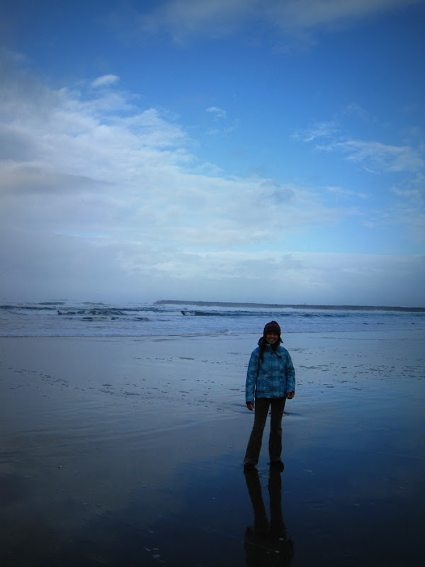 Brooke on Bastendorff Beach Coos Bay Oregon