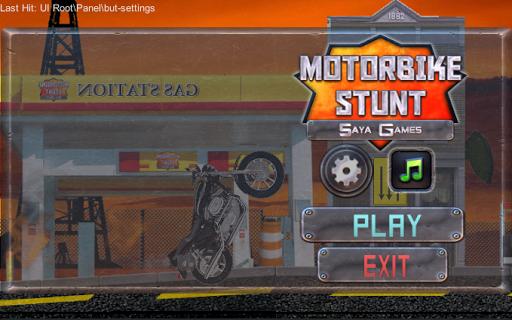 Cruise Motorcycle stunt racer