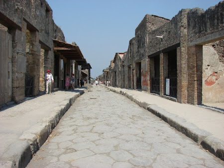 Obiective turistice Italia: Pompei