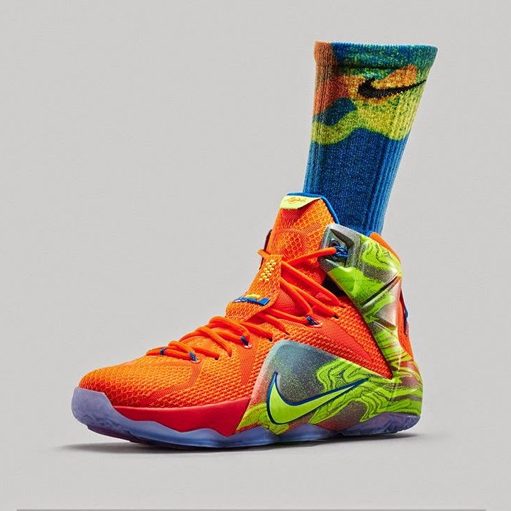 100% authentic 25fef 51c7a 8220Six Meridians8221 Nike LeBron 12 Collection 8211 Official Look ...