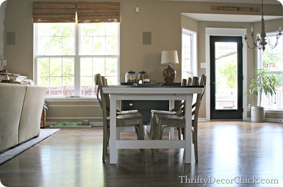 IKEA farmhouse table