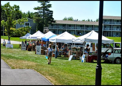 11a - Rt 198 - Northeast Harbor - Farmers Market