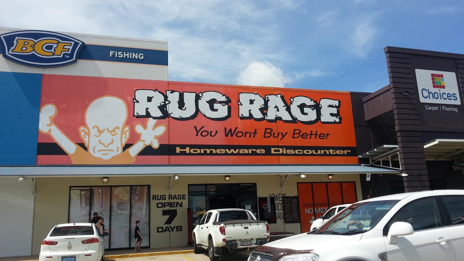 Bradshaws In Oz Rug Rage