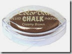 creamy brown