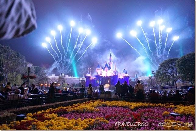 香港自由行:迪士尼煙火,看不膩的夢幻感動