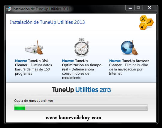 Instalacion de tune up 2013