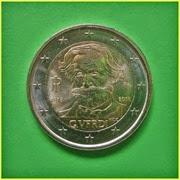 2 Euros Italia 2013 Verdi