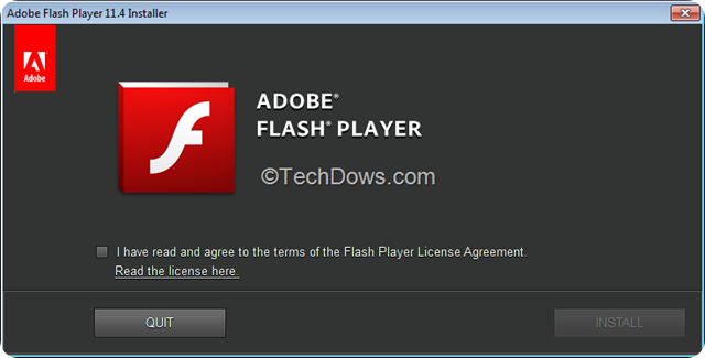 Adobe-Flash-Player-11.4-installer