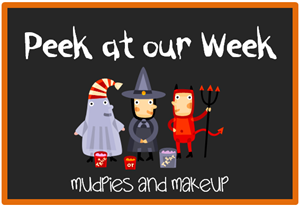 Peek at our Week Halloween