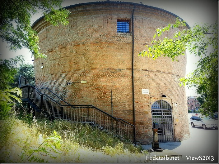 Il Torrione di San Giovanni Battista, Foto2, Ferrara,Emilia romagna,Italia - The Keep of St John the Baptist, Photo2, Ferrara, Emilia Romagna, Italy - Property and Copyrights of FEdetails.net  (c)