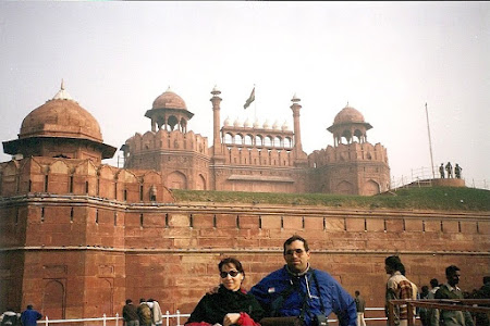 Obiective turistice India: Red Fort - Delhi