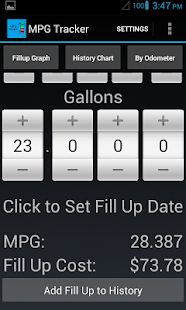 MPG Tracker (Fuel Calculator) - screenshot thumbnail