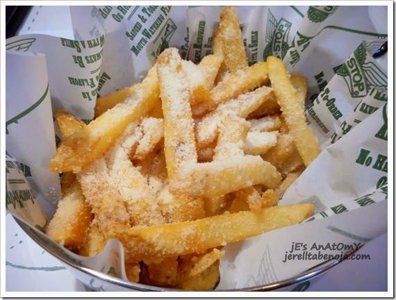 Wingstop, Garlic Parmesan Fries