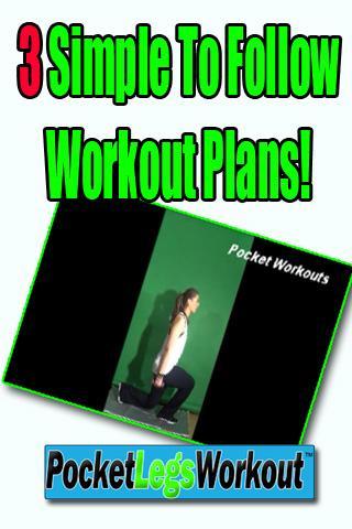 Pocket Legs Workout Pro