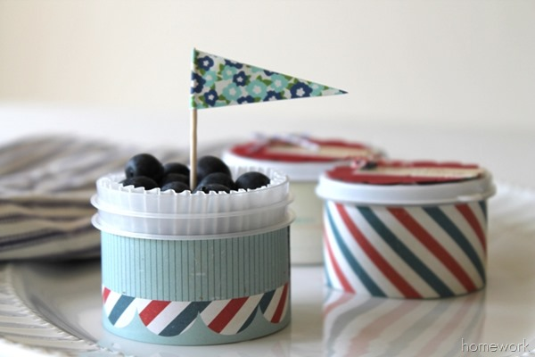 Easy Patriotic Berry Cups via homework10