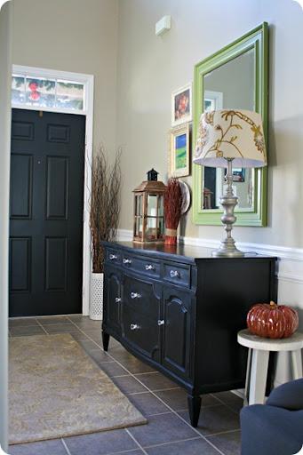 Black Interior Front Door