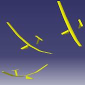 Sailglider soaring simulator