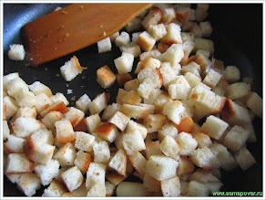 Сухарики из белого хлеба www.samapovar.ru