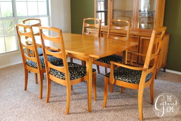 mid century dining set 2