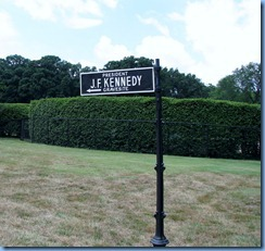 1431 Arlington, Virginia - Arlington National Cemetery - President J. F. Kennedy Gravesite sign
