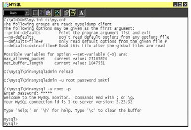 Cara Instalasi MySQL Versi MySQL-3.23.32-win