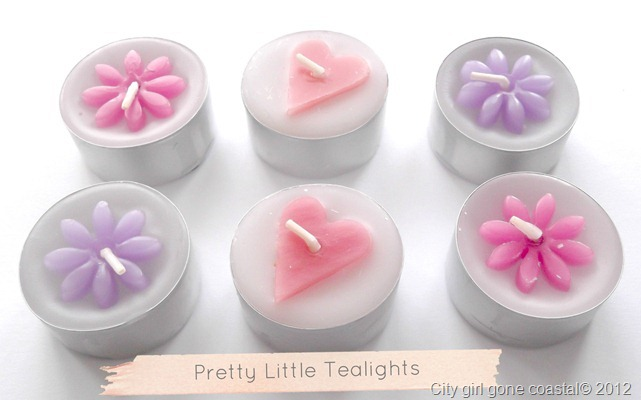 pretty little tealights