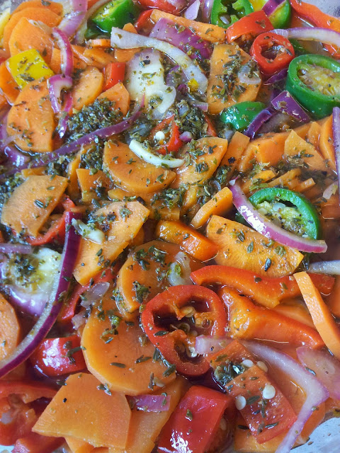 Experiments in Food: Chiles en Vinaigre a k a Mexican Carrot