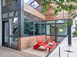 Arquiectura-Fachada-vidrio-y-acero