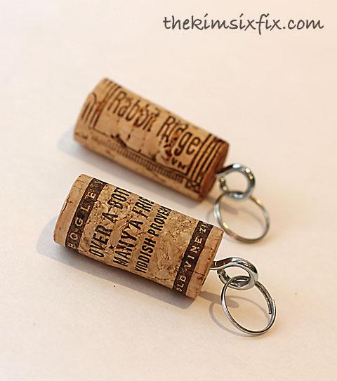 wine cork key. Black Bedroom Furniture Sets. Home Design Ideas