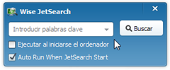 Wise JetSearch automático