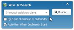 Wise JetSearch automático