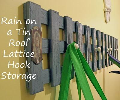 Lattice Hook Rack