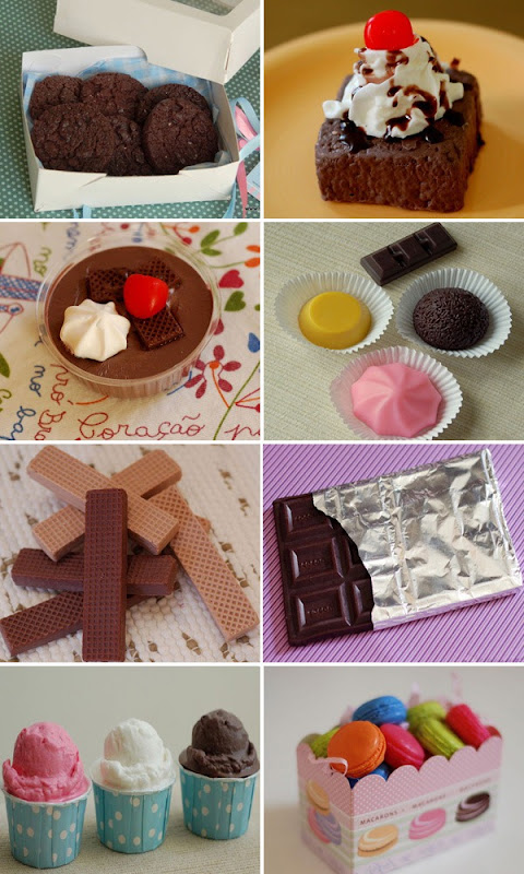 Sabonetes-Shiboneteria-Doces-Cookies-Brownie-Tortinha-Brigadeiro-Quindim-Wafer-Chocolate-Sorvete-Macaron