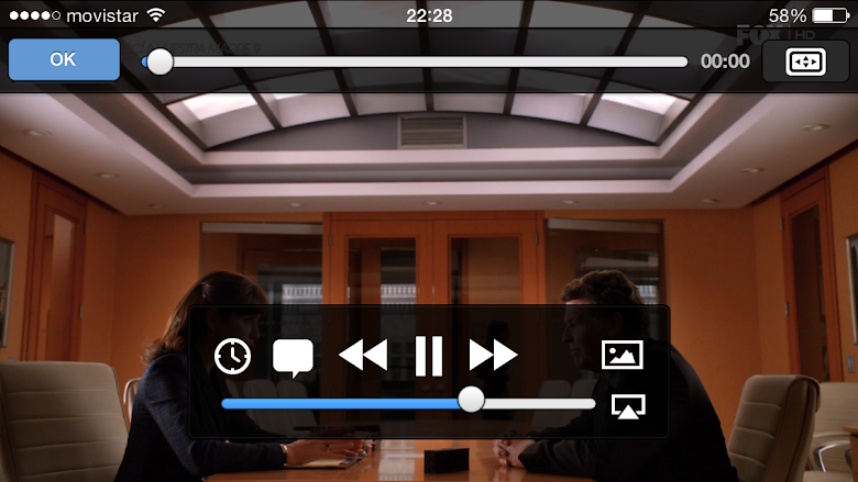 FOX HD en VLC para iPhone