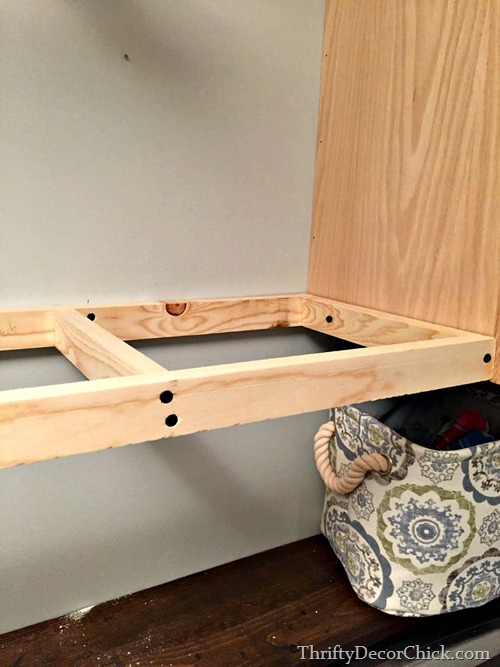making wood shelving