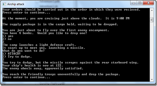 Airchip Attack screenshot 2