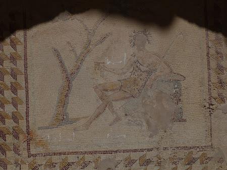 Imagini Liban: mozaic roman Baalbek