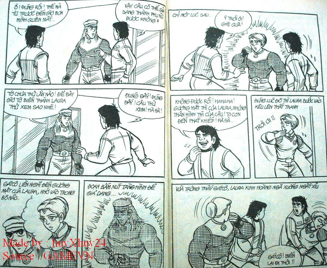 Dũng Sĩ Hesman chap 26 trang 9