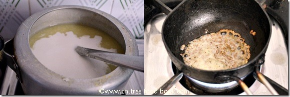 rice porridge step by step