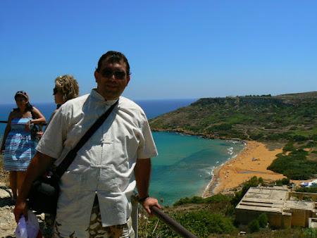 Plaja rosie din Gozo