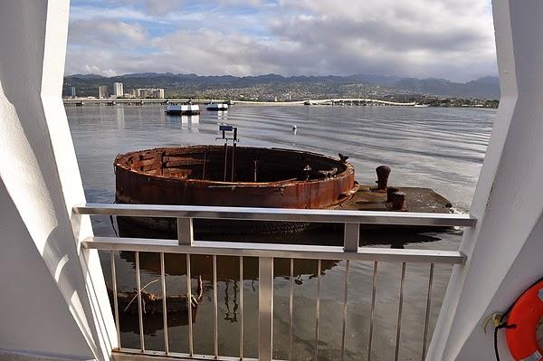 亞歷桑納戰艦的古炮台