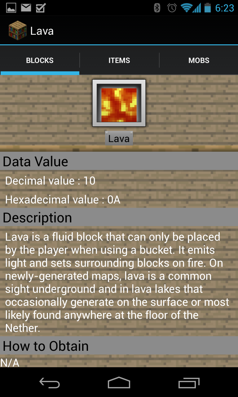 Encyclopaedia Minecraftica - A Canadian app by a Canadian ~ Android ...