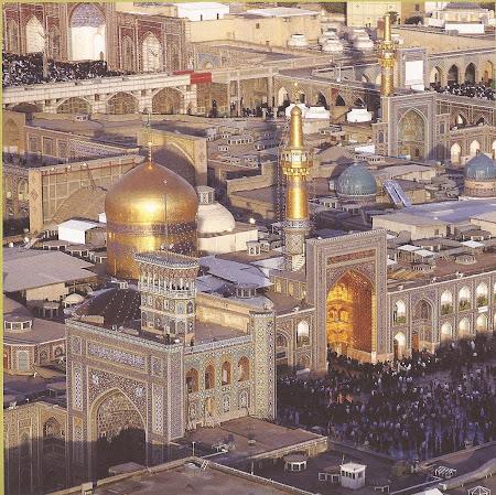 Imagini Iran: Mausoleu Imam Reza Mashad