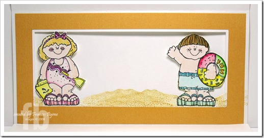 Beach Accordion Fold Card2 wm